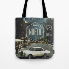 666 miles north Tote Bag