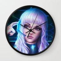 Sci-fi Mango Wall Clock