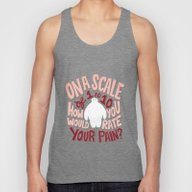 Rate Your Pain Unisex Tank Top