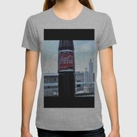 Industrial Coke Womens Fitted Tee Athletic Grey SMALL