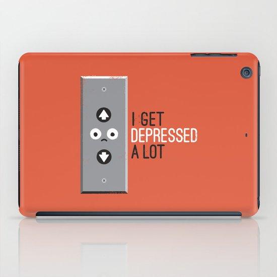 Feeling Down iPad Case