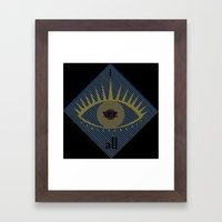 I see all Framed Art Print