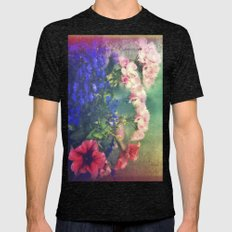 Flowers Of My Joy Mens Fitted Tee Tri-Black SMALL