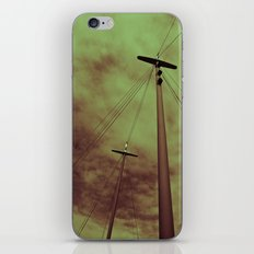 Red sky iPhone & iPod Skin