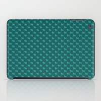 Dogs-Teal iPad Case