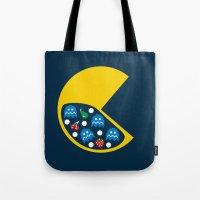 8-Bit Breakfast Tote Bag