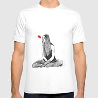 SHE Mens Fitted Tee White SMALL