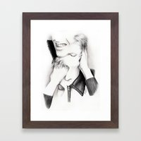 DECONSTRUCTION OF DAVID … Framed Art Print