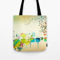 I Heart Life Tote Bag
