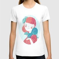 It's a Ferret Womens Fitted Tee White SMALL