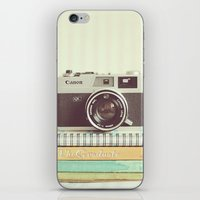 Simple Canonet  iPhone & iPod Skin