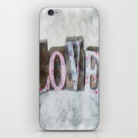 LOVE iPhone & iPod Skin
