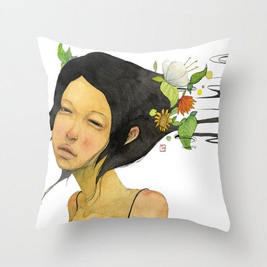 Shampoo  Throw Pillow