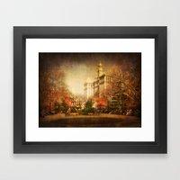 New York in Watercolour Framed Art Print