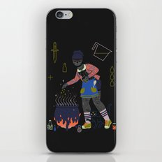 Witch Series: Cauldron iPhone & iPod Skin