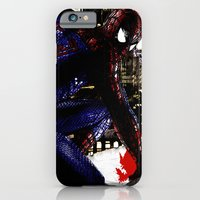 iPhone & iPod Case featuring Spiderman in London Close up by D77 The DigArtisT