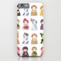iPhone & iPod Case featuring PaperDolls by munieca