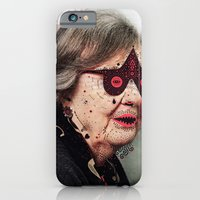 iPhone & iPod Case featuring G r a n n y  by Cosmic Nuggets