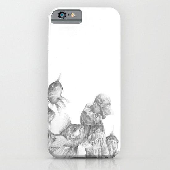In which fish show concern iPhone & iPod Case