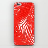 Palms Red Hot iPhone & iPod Skin