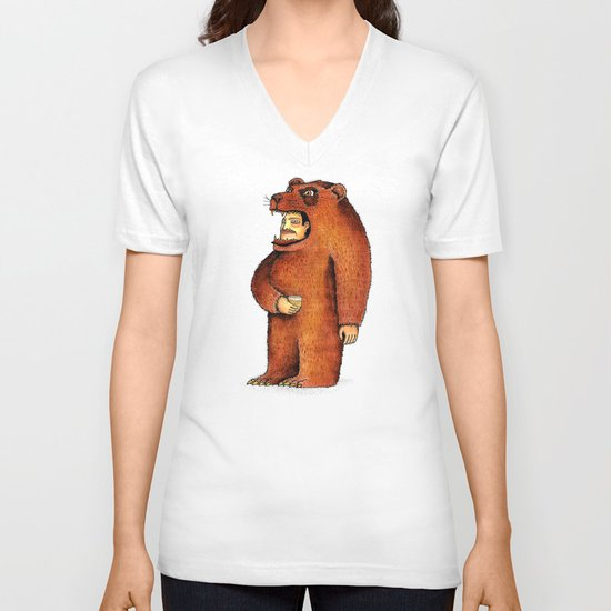 Oso pico tibio V-neck T-shirt