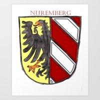 Nuremberger Wappen Art Print