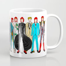 Outfits Of Bowie Fashion… Mug