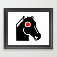 Zelonicus Horse Framed Art Print