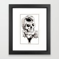 The Laughing Dragon Framed Art Print