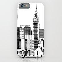 New York Black and White 2 iPhone 6 Slim Case