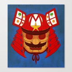 The Defender of the Mushroom Dynasty Canvas Print
