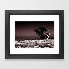 Swept Away Framed Art Print