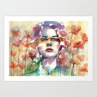 Summer's Yearnings Art Print