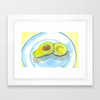 California Avocados Framed Art Print