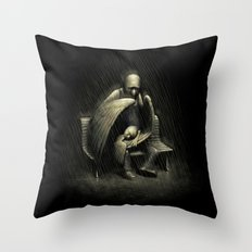 Two Wings and a Prayer Throw Pillow