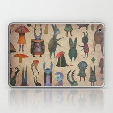 The Cursed Forest Charac… Laptop & iPad Skin