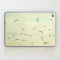 Graceful Flock Laptop & iPad Skin