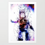Back From The Brink Art Print