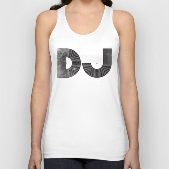 DJ Unisex Tank Top