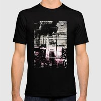 Concrete Jungle 1 Mens Fitted Tee Black SMALL