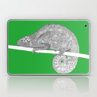 Green-Chameleon Laptop & iPad Skin
