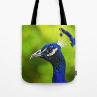 Pretty As A Peacock I Tote Bag