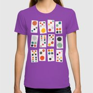 Domino Womens Fitted Tee Ultraviolet SMALL