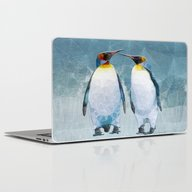 Penguin Love Laptop & iPad Skin