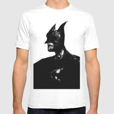 white knight White SMALL Mens Fitted Tee