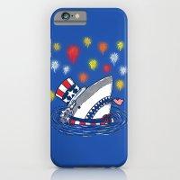 The Patriotic Shark iPhone 6 Slim Case