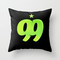 99 Throw Pillow