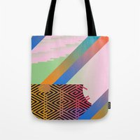 Clrfl Spill Tote Bag