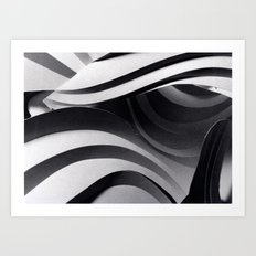 Paper Sculpture #5 Art Print