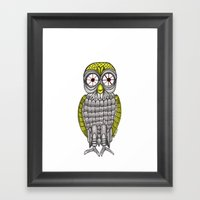 O_o Framed Art Print